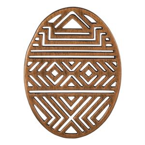 Picture of Rose Gold Art Deco Oval Screen
